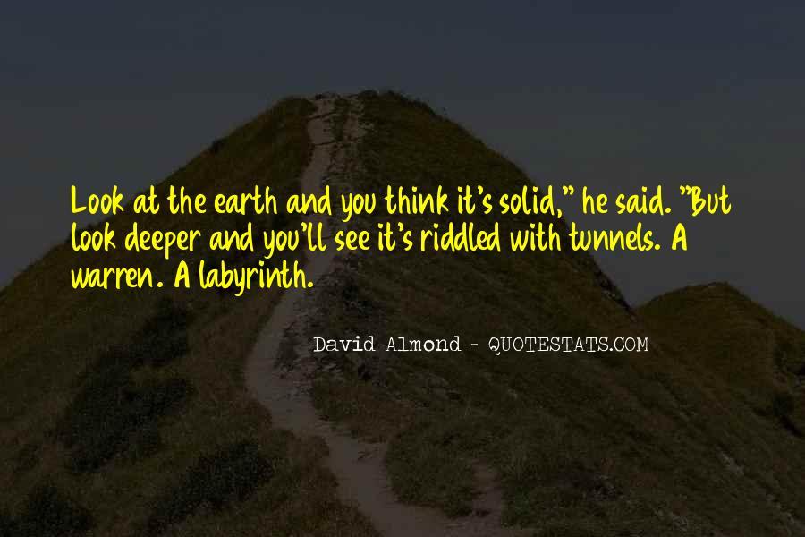 David Almond Quotes #505892