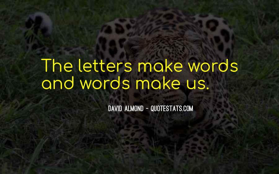 David Almond Quotes #661926