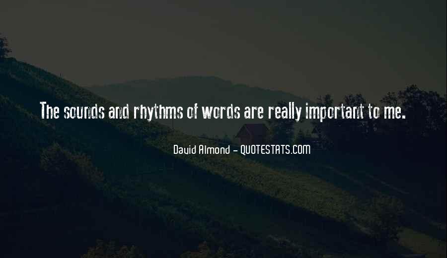 David Almond Quotes #677857