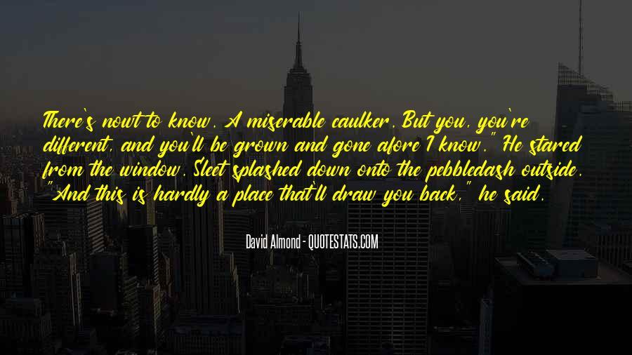 David Almond Quotes #708978