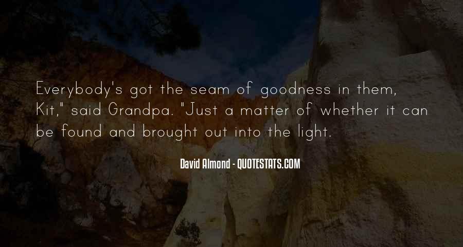 David Almond Quotes #721513