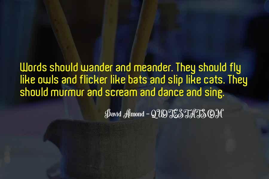David Almond Quotes #794422