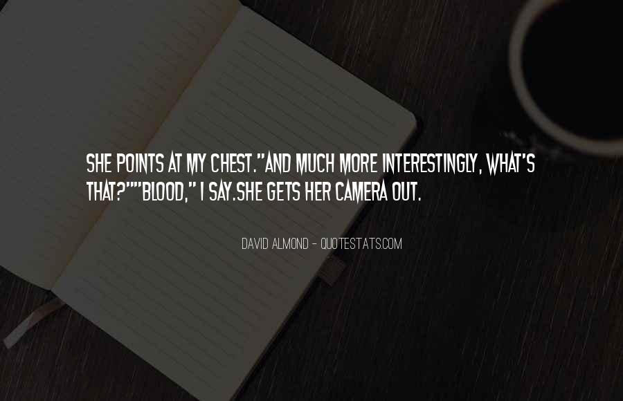 David Almond Quotes #888337