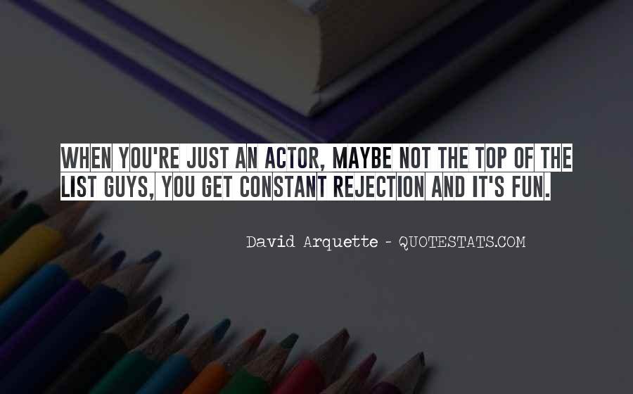 David Arquette Quotes #453128
