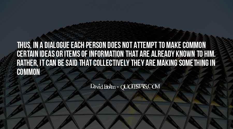 David Bohm Quotes #1243188