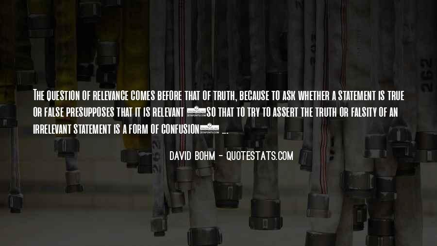 David Bohm Quotes #1250586
