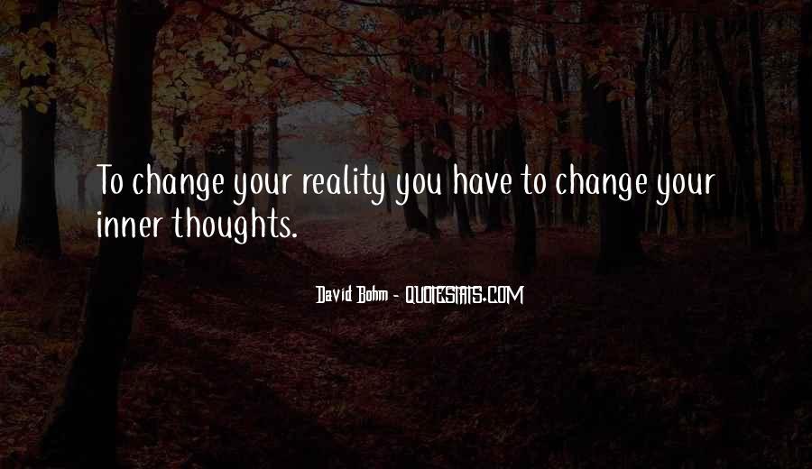 David Bohm Quotes #1290322