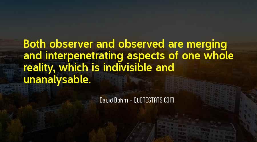 David Bohm Quotes #1296007