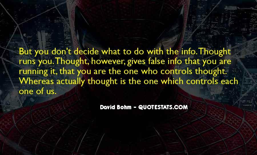 David Bohm Quotes #1348171
