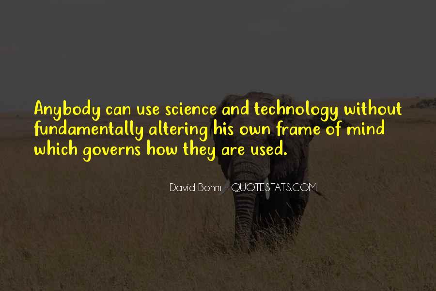 David Bohm Quotes #1387821