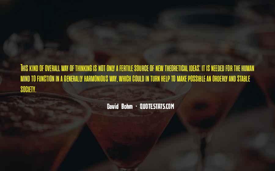 David Bohm Quotes #1490797