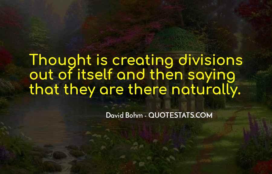 David Bohm Quotes #1627245