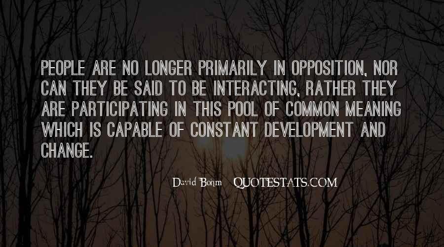 David Bohm Quotes #1729166