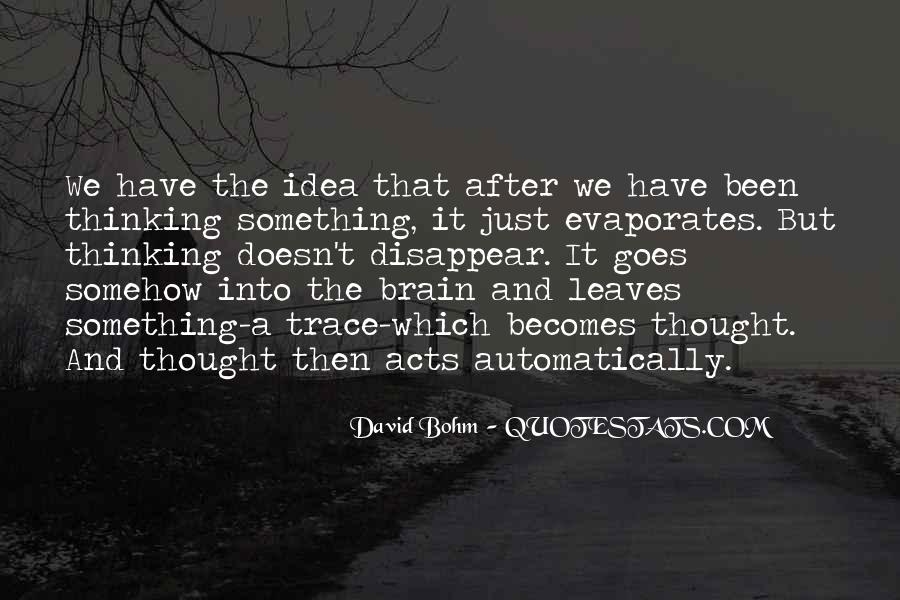 David Bohm Quotes #272310