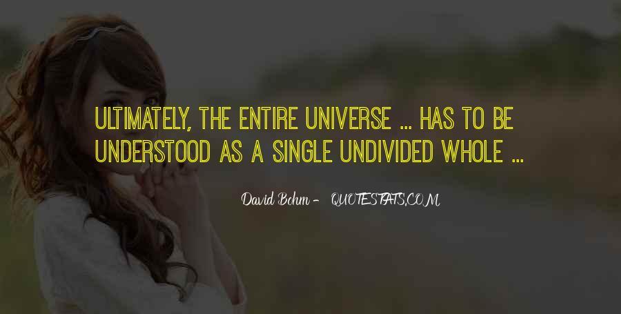 David Bohm Quotes #344141