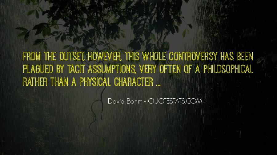 David Bohm Quotes #369739