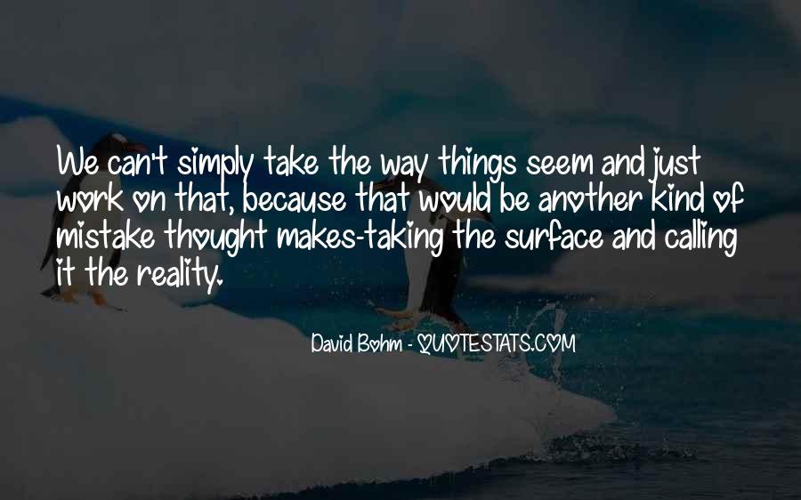 David Bohm Quotes #369998