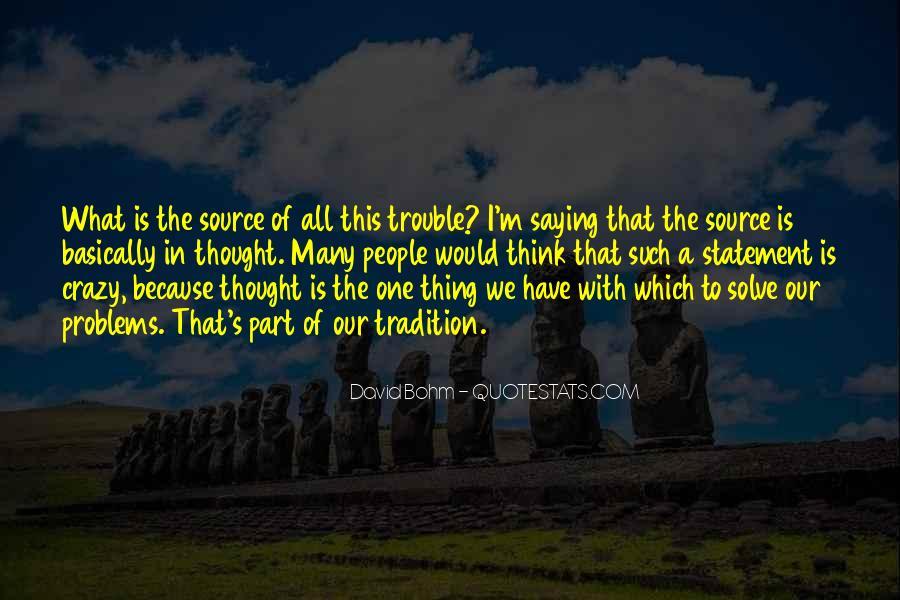 David Bohm Quotes #519207