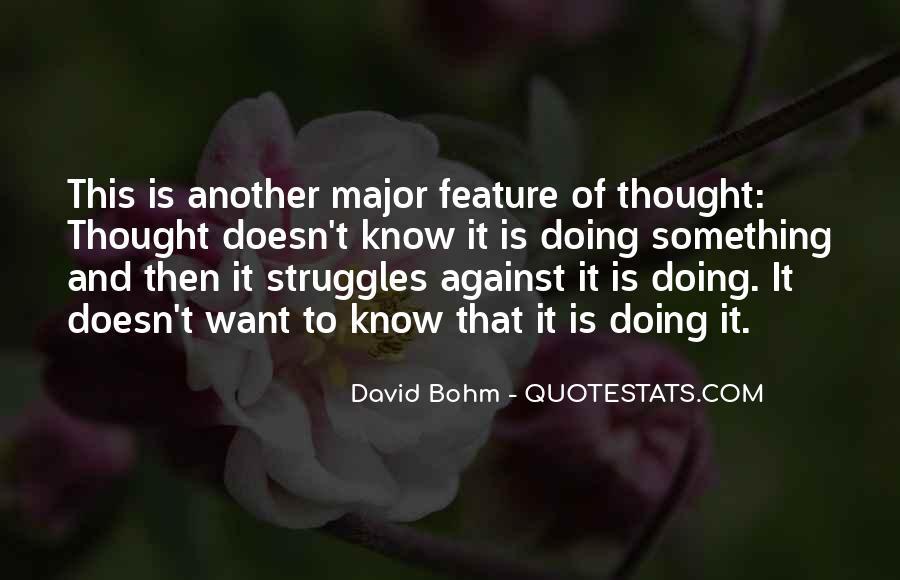 David Bohm Quotes #633236