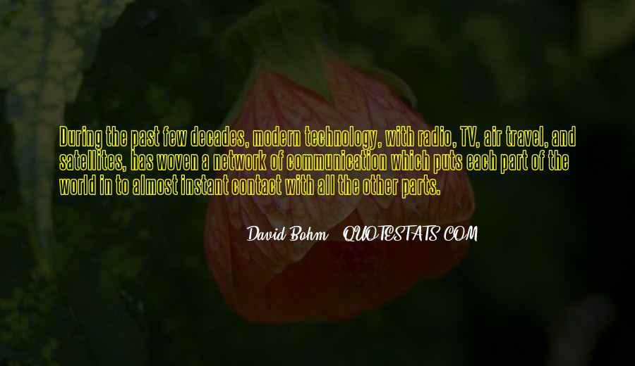 David Bohm Quotes #649437