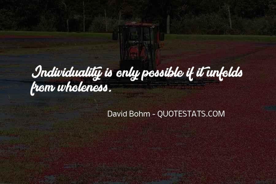 David Bohm Quotes #684114