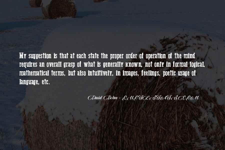 David Bohm Quotes #7134