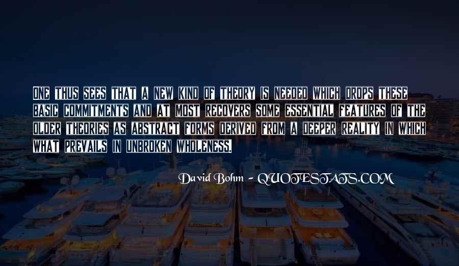 David Bohm Quotes #997750