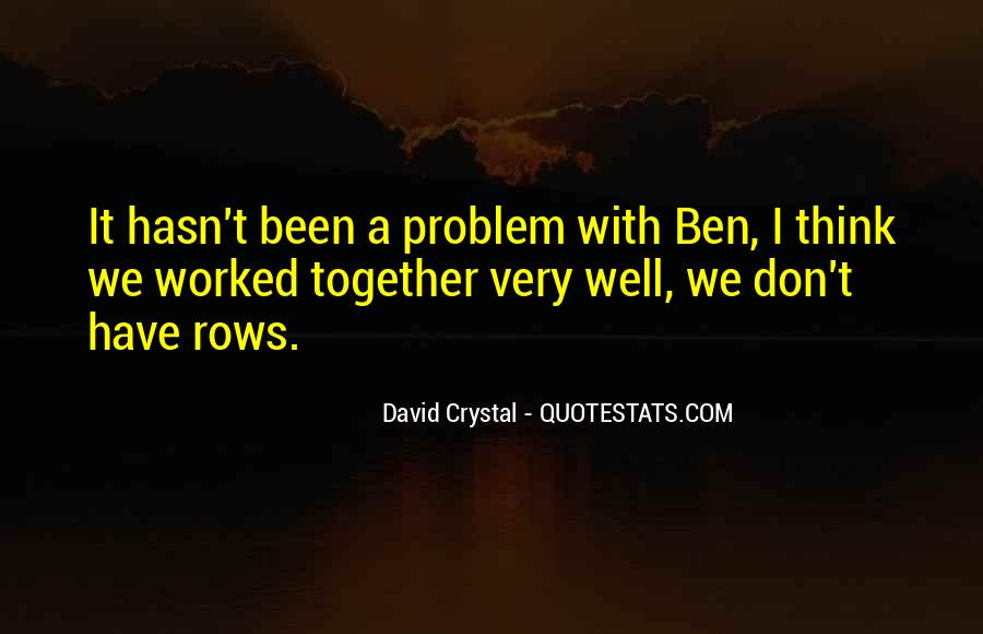 David Crystal Quotes #1023029
