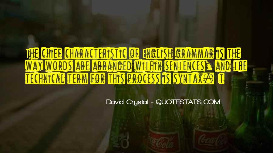 David Crystal Quotes #1121659
