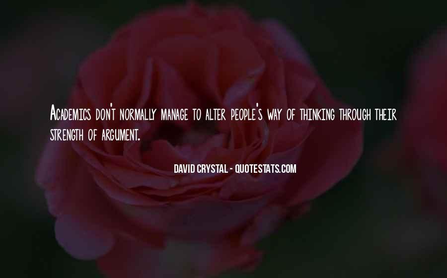 David Crystal Quotes #1161426
