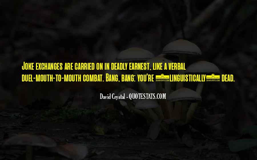 David Crystal Quotes #1212071