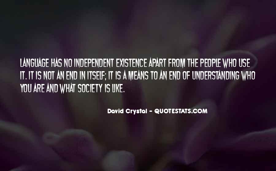 David Crystal Quotes #1379692
