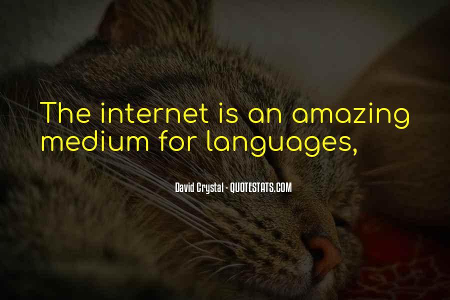 David Crystal Quotes #1455325