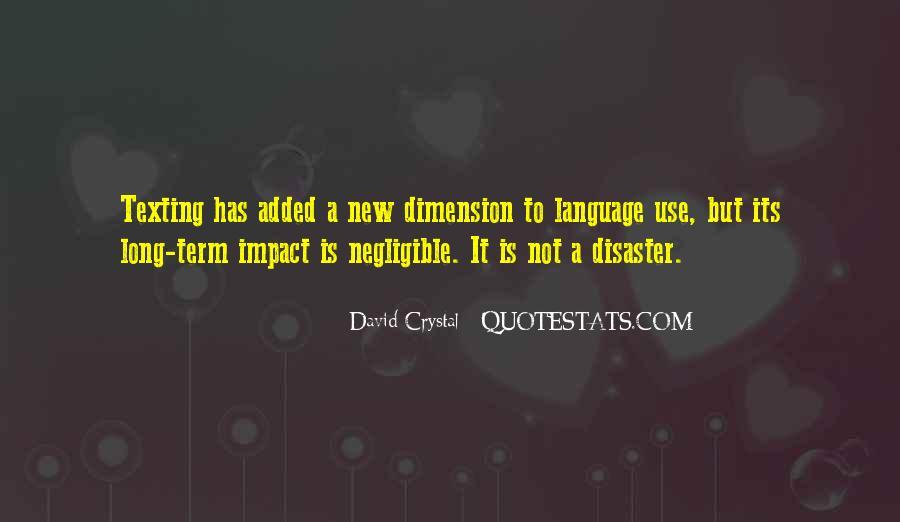 David Crystal Quotes #293671