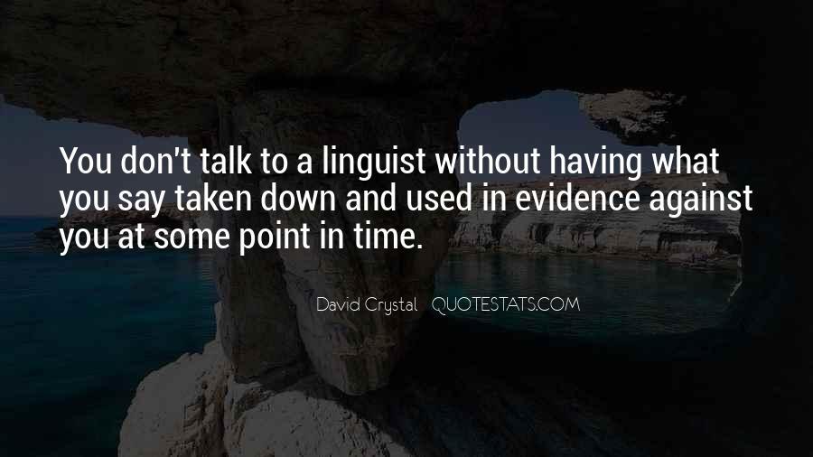 David Crystal Quotes #569040