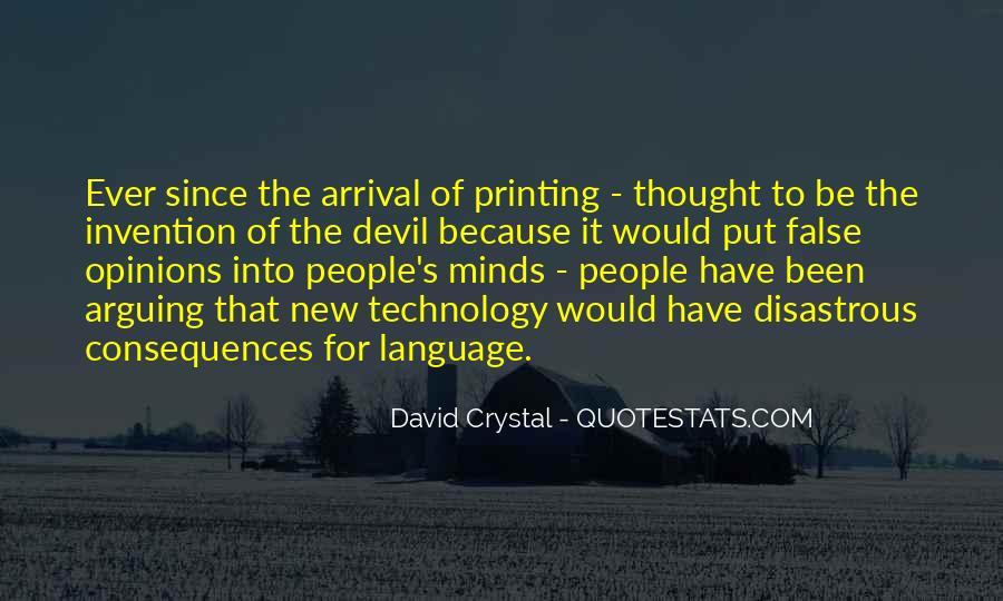 David Crystal Quotes #59763