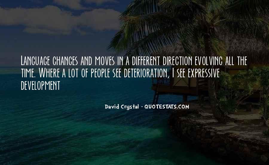 David Crystal Quotes #712574