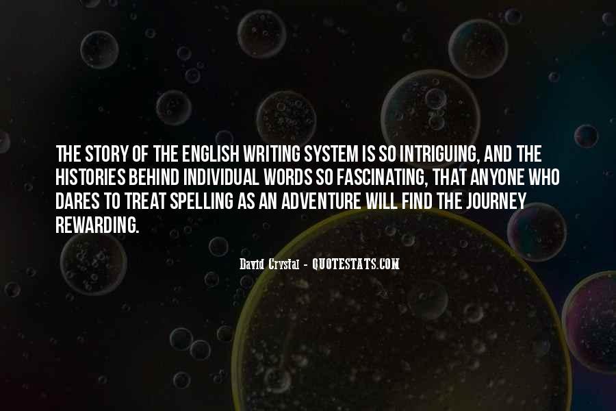 David Crystal Quotes #97262