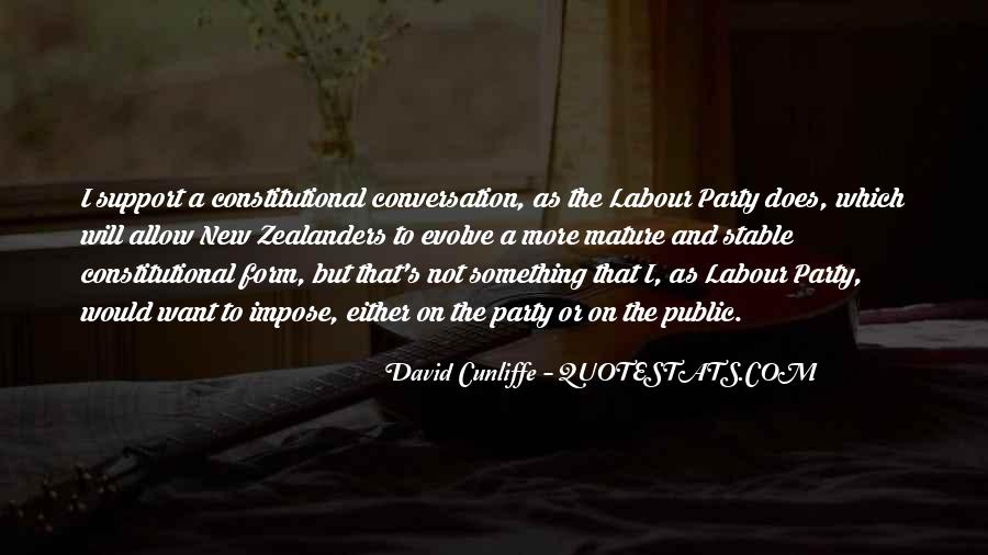 David Cunliffe Quotes #1755649