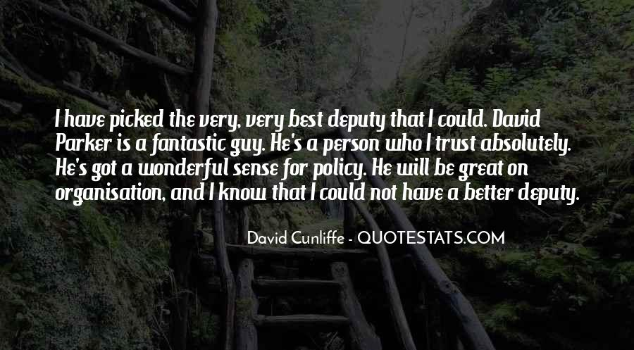 David Cunliffe Quotes #575481