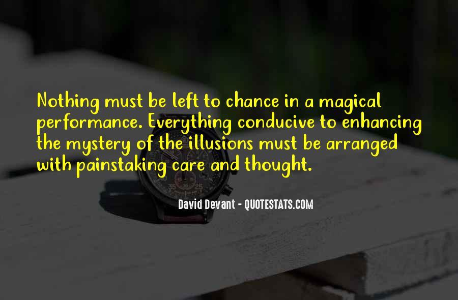 David Devant Quotes #410836