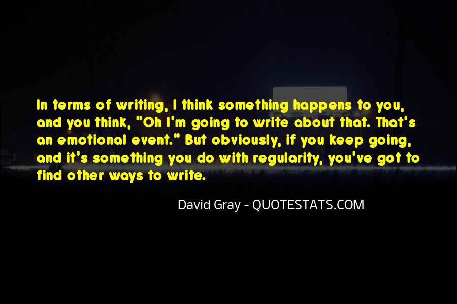 David Gray Quotes #1304040