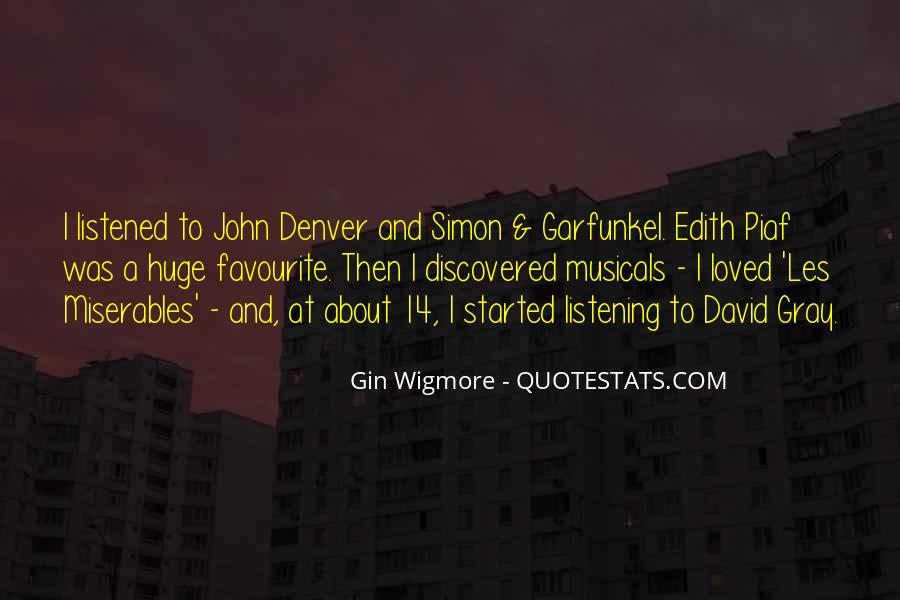 David Gray Quotes #310222