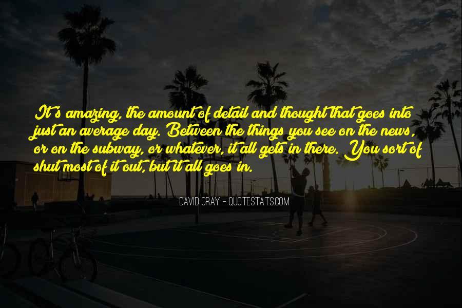 David Gray Quotes #759862