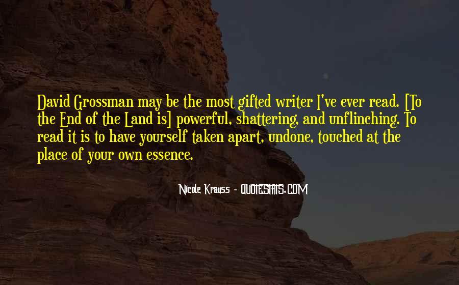 David Grossman Quotes #1084305