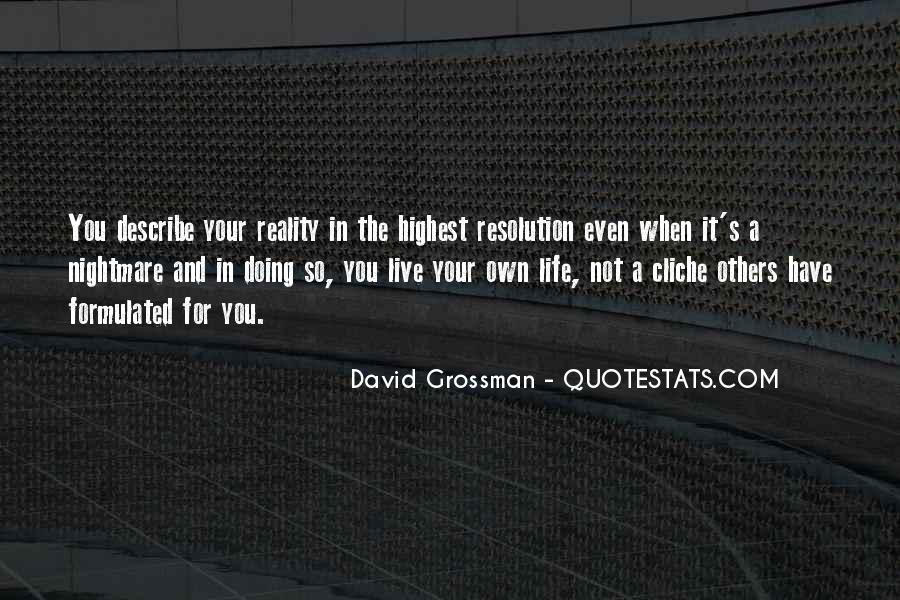 David Grossman Quotes #1480426