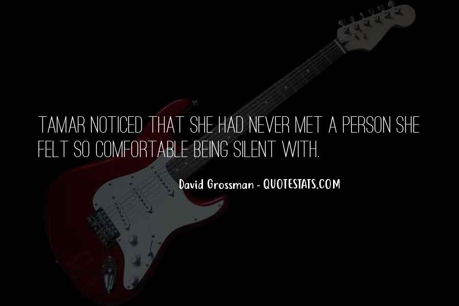David Grossman Quotes #1685342