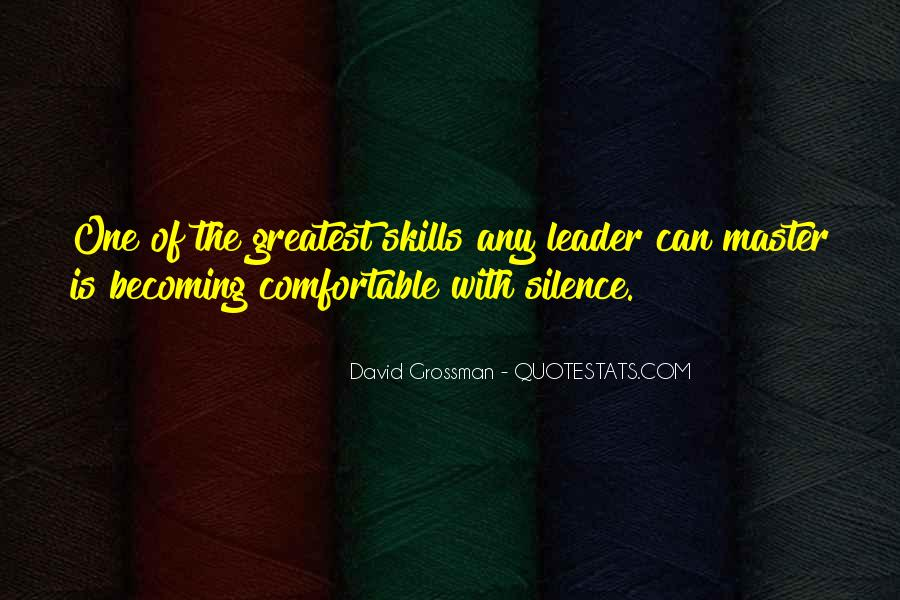 David Grossman Quotes #1710589