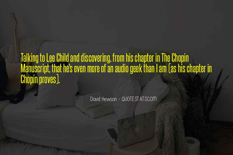 David Hewson Quotes #13017
