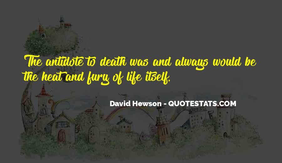 David Hewson Quotes #13171